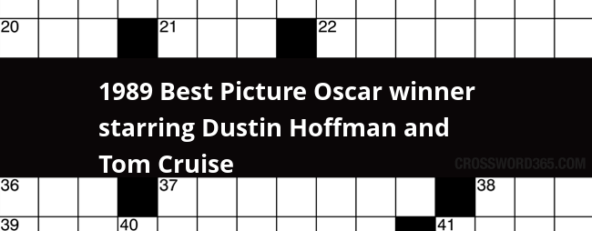 1989 Best Picture Oscar winner starring Dustin Hoffman and ...