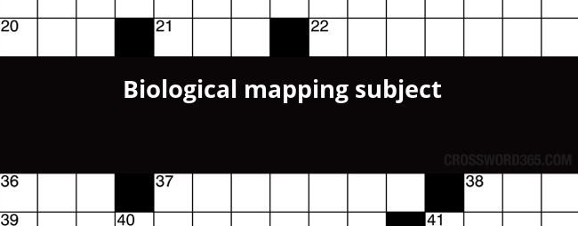 Biological mapping subject crossword clue below you will be able to find the answer to biological mapping subject crossword clue which was last seen on la times crossword august 23 2017 malvernweather Choice Image