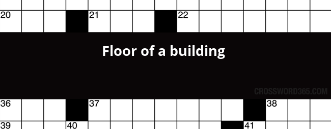 Building floor crossword clue the ground beneath her feet below you will be able to find the answer to floor of a building crossword clue malvernweather Choice Image