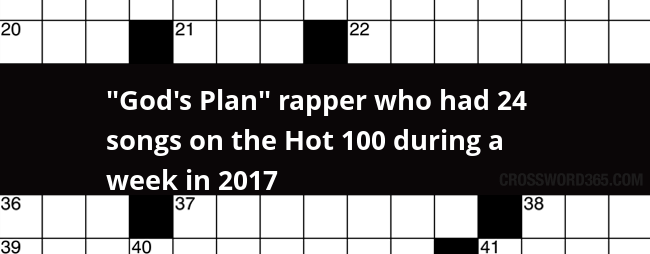 God S Plan Rapper Who Had 24 Songs On The Hot 100 During A Week In