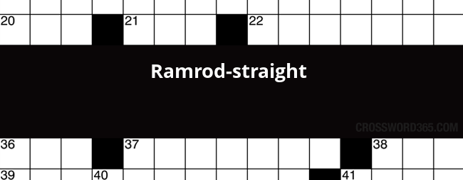 Ramrod straight crossword clue below you will be able to find the answer to ramrod straight crossword clue which was last seen on nz herald crossword january 29 2018 malvernweather Image collections