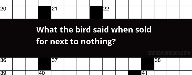 The Bird Said Nothing