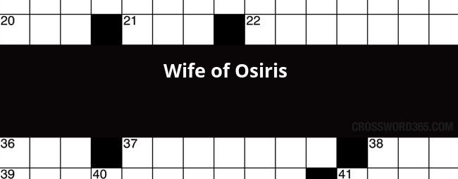 wife of osiris crossword - 650×254